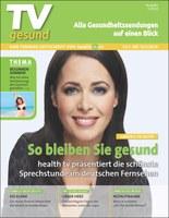 Neuheit auf dem TV-Zeitschriftenmarkt: Alle Gesundheitssendungen auf einen Blick