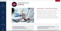 Herzkreislaufexperte.de: Neue Wissensplattform für Fachgruppen