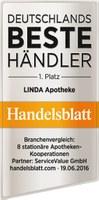 "LINDA Apotheken sind ""Bester stationärer Händler 2016"""