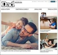 Men's Health Dad startet Digital-Offensive: Väter-Themen noch mehr Raum geben
