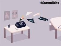 Neue Initiative #faxendicke will Fax in der Medizin abschaffen