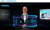 Hologrammwelt mit 100+ Medizinprofessoren für Ihre Gesundheit – der Relaunch von Frag-den-Professor.de geht live