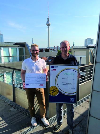 YAS.life erhält Pro FIT Förderzuschlag der Investitionsbank Berlin (IBB)