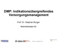 DMP: Indikationsübergreifendes Versorgungsmanagement